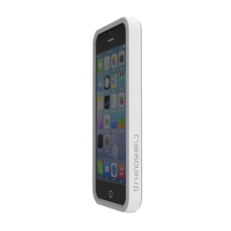 h iphone 5s rhinoshield crash guard bumper for iphone 5 5s white aa0100104