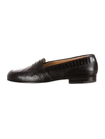 mens ostrich loafers gucci ostrich loafers shoes guc74716 the realreal