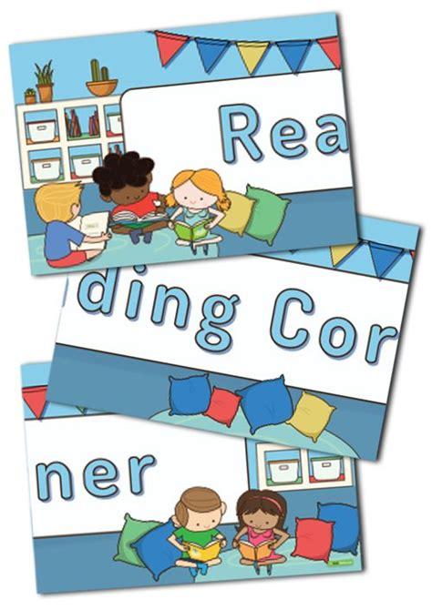 reading corner reading corner display banner teaching resource teach