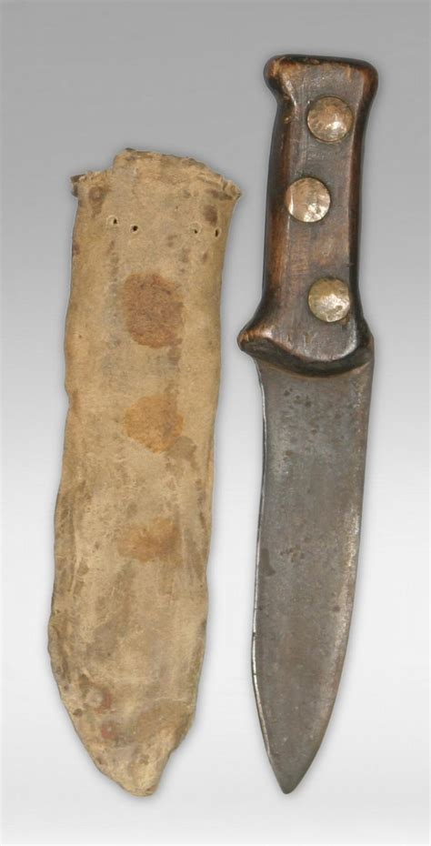mountain knife sheath mountain style knife and sheath early 19th century