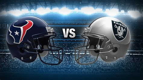Tv Show Benched Official Game Day Thread Texans Vs Raiders Houston