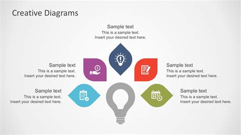 Free Creative Business Diagrams For Powerpoint Slidemodel Creative Diagrams