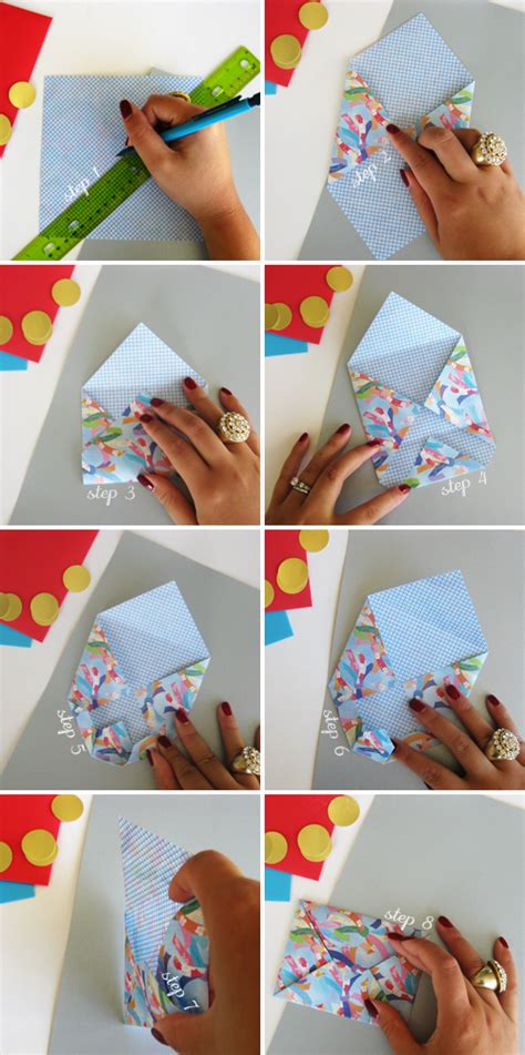 How To Make Handmade Envelopes - origami dollar tutorial valentines day crafts