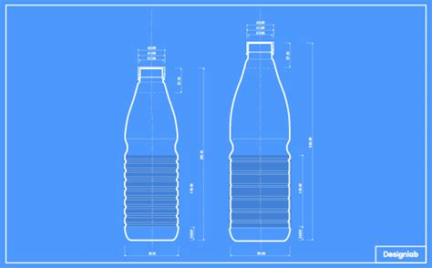 make a blueprint lanitis milk bottle