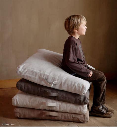 Where To Buy Floor Pillows linen floor pillow set of 2 libeco