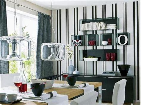 Pareti A Righe In Cucina by Pareti A Righe In Cucina Confortevole Soggiorno Nella Casa