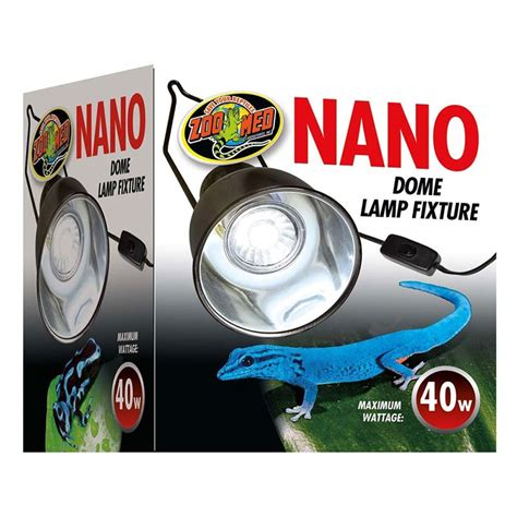 Zoo Med Nano Dome L Fixture Zoo Med Light Fixture