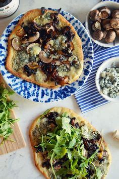 mushroom blue cheese stovetop pizza 1000 images about flat breads on pinterest flatbread