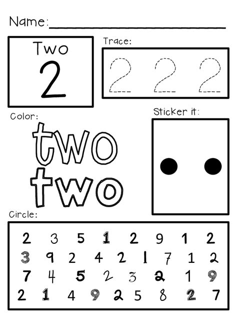 Free Printable Worksheets For Pre K by Pre K Worksheets Printable 5 Best Images Of Pre K Free