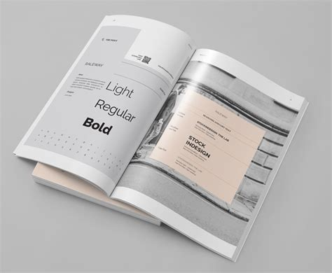 user manual design template brand manual template free indesign templates