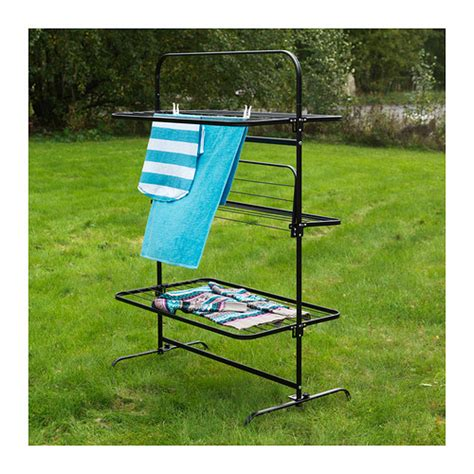 Laundry Drying Rack Outdoor by Mulig Drying Rack 3 Levels In Outdoor Suitable For