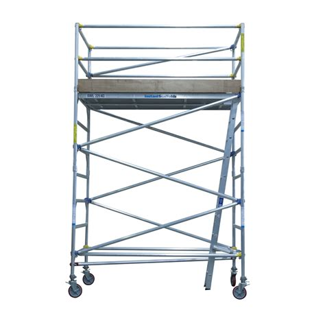 aluminium mobile scaffolding instant access 0 8 x 2 5m x 2 5m mobile aluminium scaffold