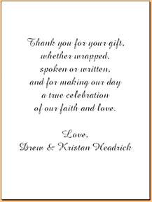 wedding thank you cards exles lake house creations weddings