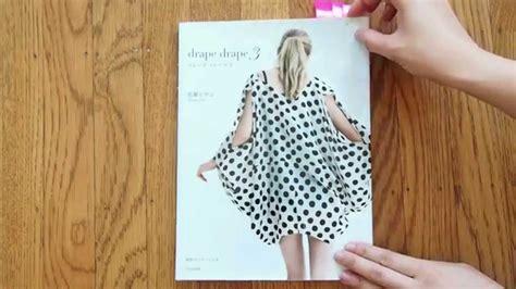 drape pattern drape drape 3 japanese sewing pattern book review