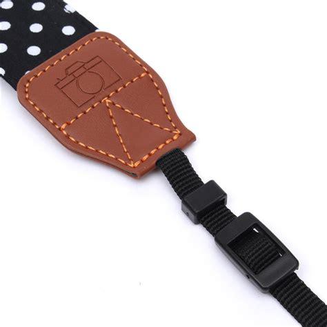 Belt For Dslr Caden Rapid Shoulder Neck polka dot pattern rapid shoulder sling belt neck for canon nikon sony dslr sale