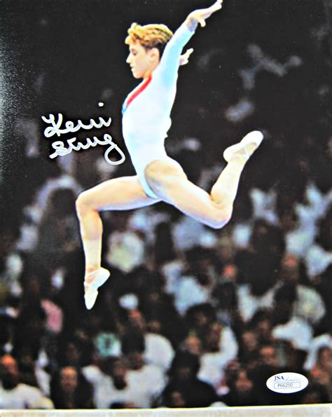 kerri strug signed photo memorabilia center