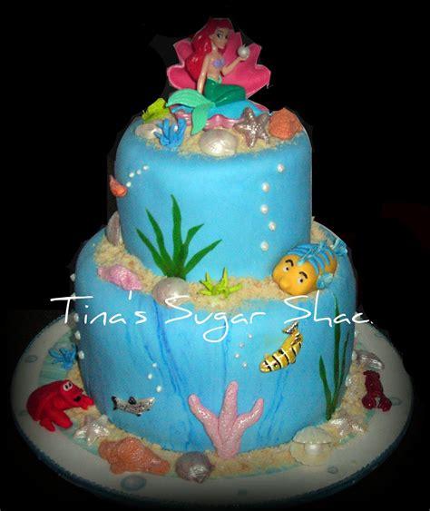 Ariel Birthday Cake Decorations by Mermaid Decorations Mermaid 18 Mermaid 17