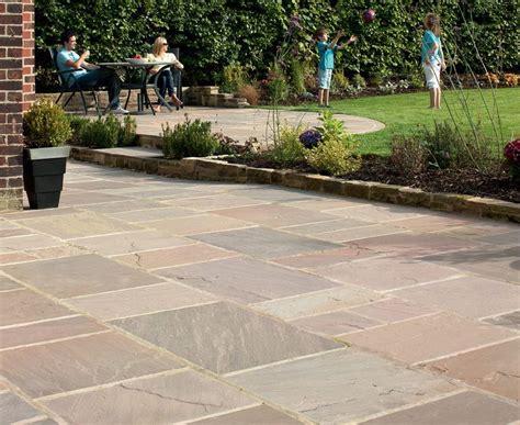 sandstone paving slabs light grey google search patio