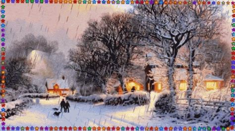 merry christmas snowing gif merrychristmas snowing christmastree discover share gifs