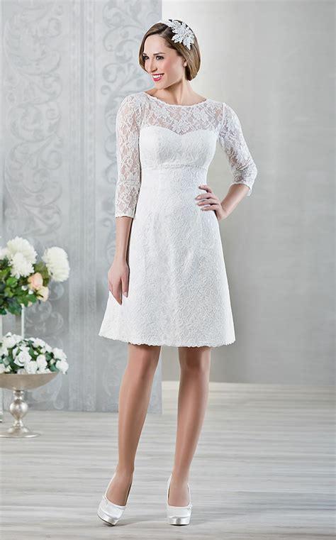 Hochzeitskleid Kurz Spitze by Kurze Brautkleider 20 Umwerfende Traumkleider F 252 R Die