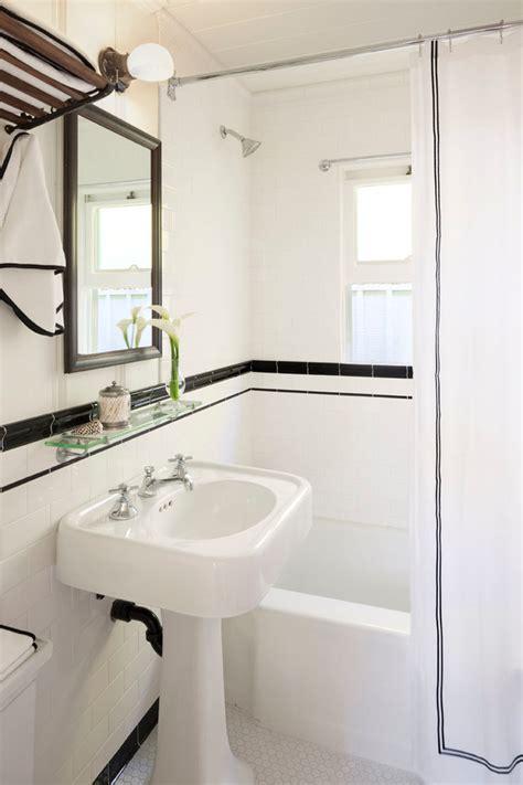 black and white border tiles for bathroom gorgeous kohler bancroft in bathroom transitional with