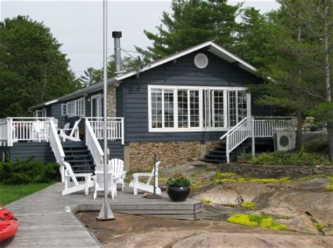Georgian Bay Waterfront Cottages For Sale by Honey Harbour Cottage Sold With Rick Hill Waterfront Lot