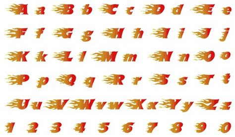fire pattern font flaming font by hopscotch home format fonts on
