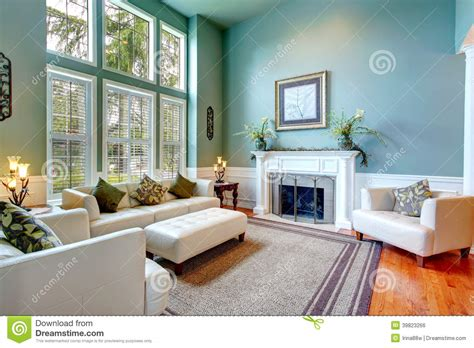 Small Luxury Floor Plans Luxury House Interior Elegant Living Room Stock Photo