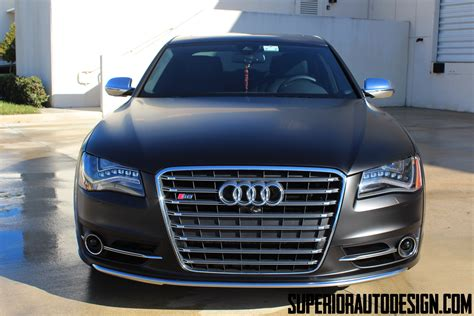 old car manuals online 2007 audi s8 parking system 2013 audi s8 looks the business in satin black wrap photo pictures illinois liver