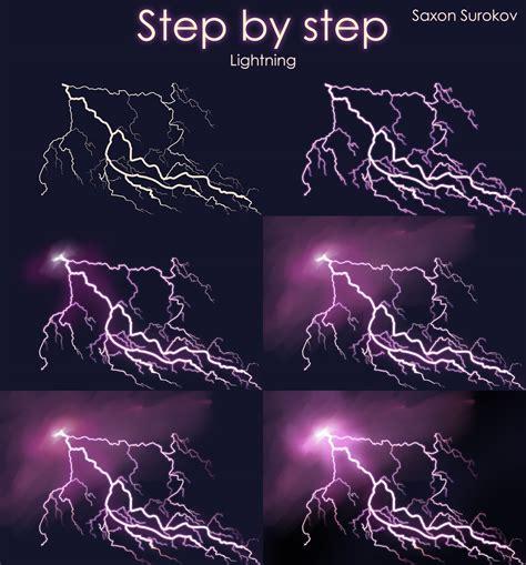 Lightening Step 3 step by step lightning by saxonsurokov on deviantart