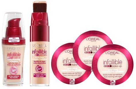 loreal infallible foundation  brush  powder