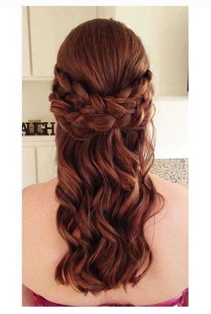 grad hairstyles half up half down braid braid half updo hair do s pinterest updo the o jays