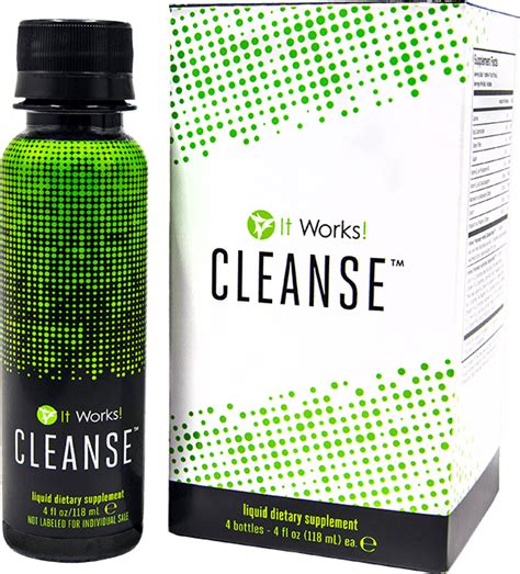 It Works Detox Cleanse Ingredients by The It Works System It Works
