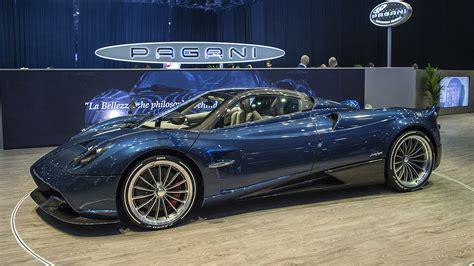new pagani car a new pagani huayra is unveiled at geneva motor show