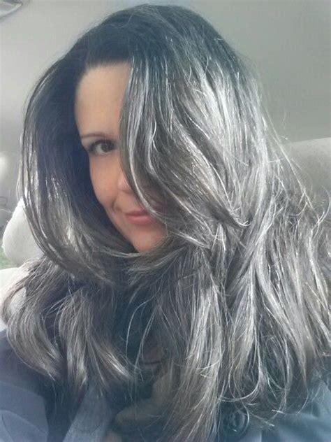 how to get gorgeous salt and pepper hair 1000 images about silver hair no platinum hair on