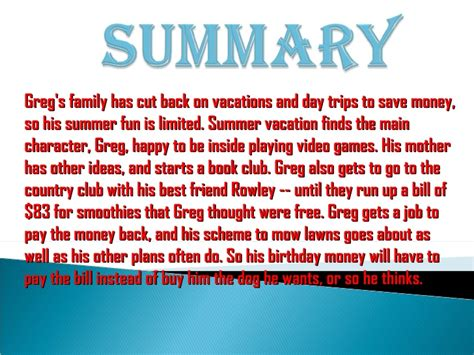 diary of a wimpy kid days summary diary of a wimpy kid rodrick book report summary mm book report diary of a wimpy