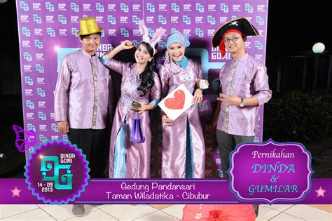 contoh desain photo booth wedding gallery photobooth indonesia photo booth