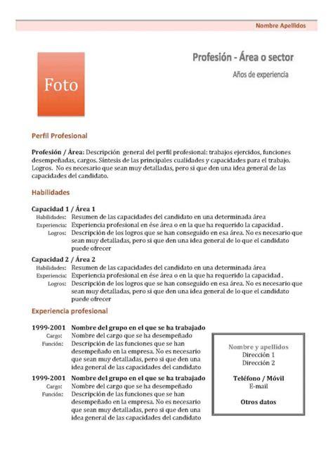 Modelo Curriculum Vitae España 2013 Tienda De Curriculum Vitae Caroldoey