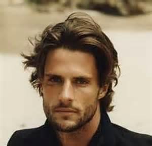Messy medium length hairstyles for men