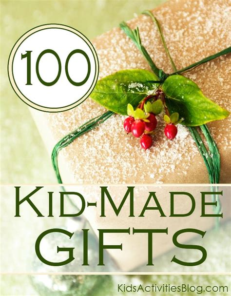 101 diy gifts for kids gift craft and holidays
