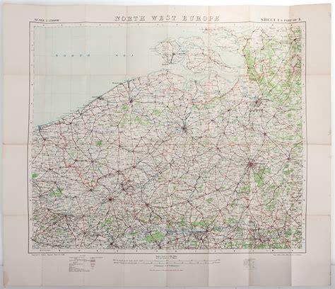 world war one maps wwi maps of west