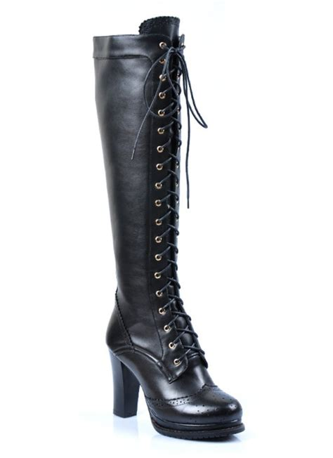 knee high dress boots raluca fashion
