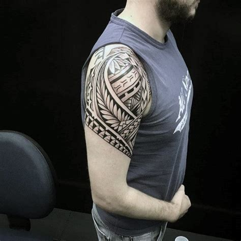100 mens shoulder tattoos new coolest tribal www pixshark images