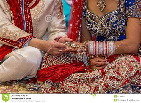 Wedding Ceremony No Rings by Indian Wedding Stock Photo Image 44172359