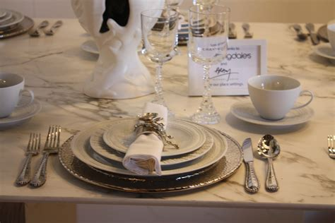 elegant dinner settings party tables all dressed up for special celebrations