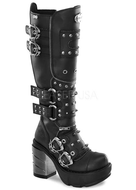 demonia boots for demonia sinister 300 boot attitude clothing