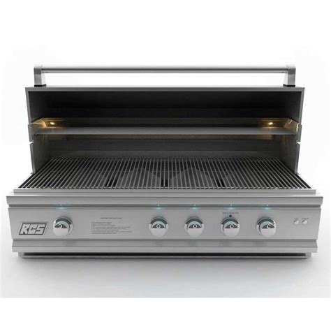 Lu Led Grill rcs grills 42in cutlass pro series stainless propane grill with led lights rcron42alp