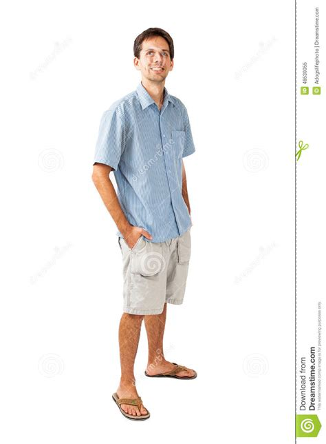 Would You Wear A Mans Clothes by Twenty Five Year In Casual Clothes Stock Image