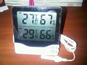 Jual Termometer Ruangan Semarang thermo hygro htc max alat ternak alat ternak unggas