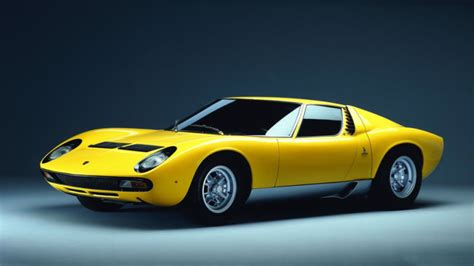 How The Lamborghini Miura Changed The Supercar Game Forever